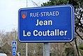Lanester - rue Jean Le Coutaller - plaque de rue.jpg
