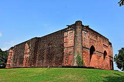 Large view of Tantipara Masjid. Gaur.jpg