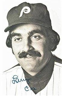Larry Cox (baseball) American baseball player