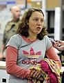 Laura Dahlmeier bei der Olympia-Einkleidung Erding 2014 (Martin Rulsch) 01.jpg