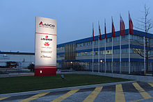 Description de l'image  Laverda headquarter in Breganze, Italy.jpg.