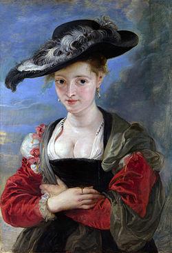 RUBENS, Pieter Pauwel The Straw Hat c.1622-5