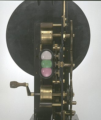 Edward Raymond Turner - Turner's three-colour projector, 1902