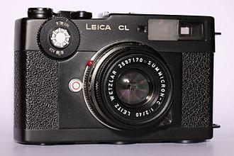 Leica CL - Leica CL with 40mm Summicron-C lens.