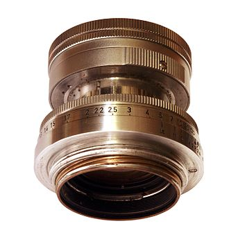 M39 lens mount - Leitz Summicron 50 mm in M39 lens mount