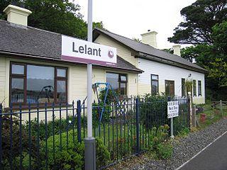 Lelant Human settlement in England