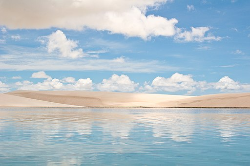 Lençóis Maranhenses in northeastern Brazil
