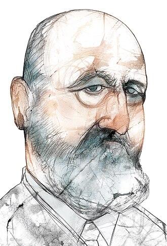 Leonardo Torres y Quevedo - Portrait of Torres Quevedo by Eulogia Merle