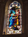 Les Paroches (Meuse) Église de l'Invention-de-Saint-Étienne vitrail 04.JPG