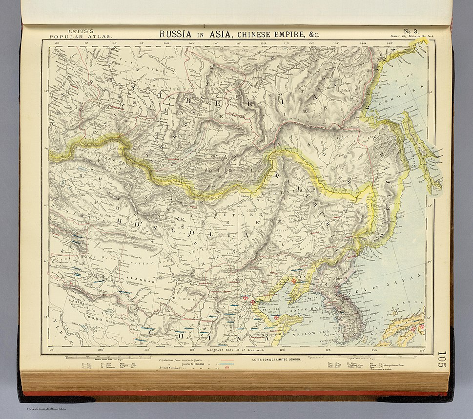 Letts-Popular-Atlas-1883-Russia-in-Asia-Chinese-Empire-etc