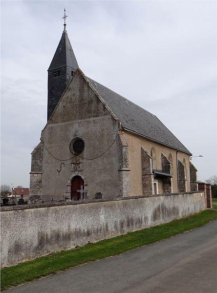 Église Saint Gilles, Levainville, Eure-et-Loir, France.