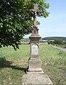 Lhánice kříž 1899.JPG
