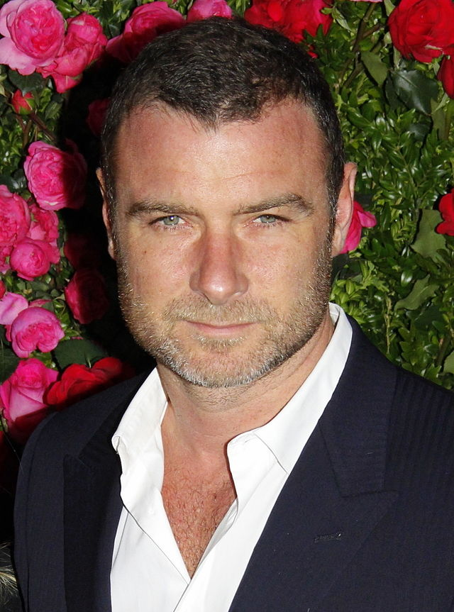 The 49-year old son of father Tell Schreiber and mother Heather Schreiber, 190 cm tall Liev Schreiber in 2017 photo