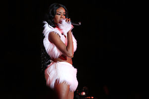 Azealia Banks - Banks performing at Life Ball 2013