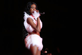Azealia Banks - Banks performing at Life Ball 2013.