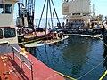Lifting of the Tug Hammond Bay (9260647717).jpg