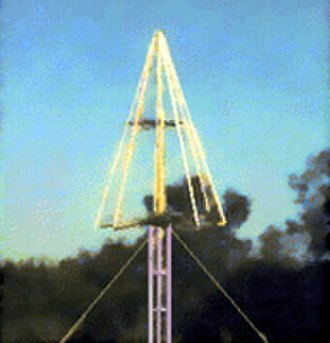Lightning detection - Lightning detector at the Kennedy Space Center in Florida.