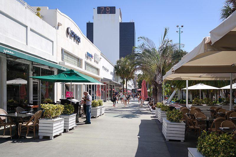 Lincoln Road Mall Miami Beach Fl