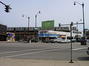 Wrightwood station (CTA) - former location of the station