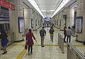 Line 2 platform of Chegongzhuang Station (20160426095958).jpg