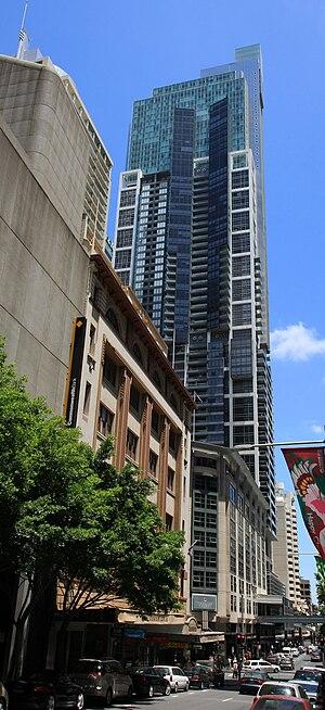 Liverpool Street, Sydney - World Tower, Liverpool Street