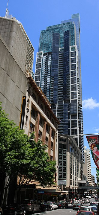 Liverpool Street, Sydney - World Tower, Liverpool Street