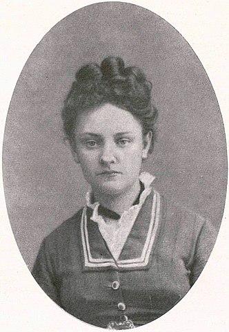 Лиза Огарёва-Герцен, 1870-е годы.