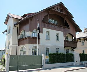Josip Vidmar - Image: Ljubljana Slovenia Vidmar house