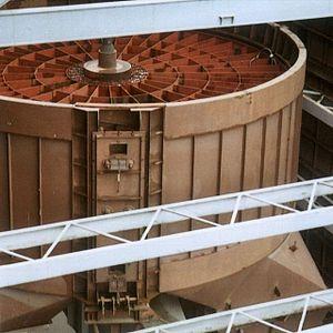 Thermal wheel - Ljungström Air Preheater by Swedish engineer Fredrik Ljungström (1875-1964).