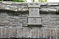 Llandeilo Stretch of Walling & Archways Abbey Terrace stone castle above gateway.jpg