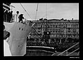 Loading of household goods on board CASTEL VERDE at Trieste in Italy, before departing for Australia with migrants, 1953-1954 (8426289990).jpg
