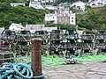 Lobster traps at Clovelly.jpg
