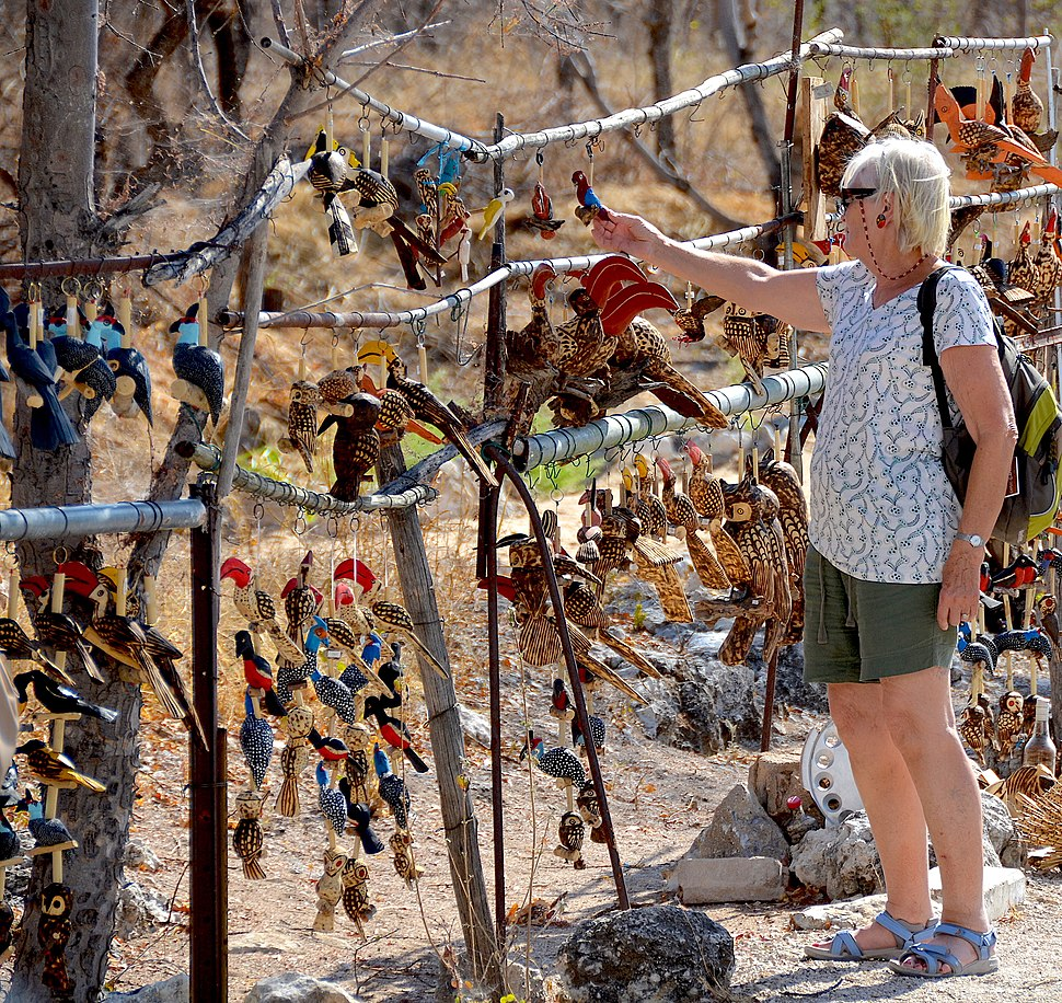 Local handicraft, Etosha National Park (Namibia)