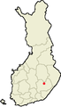 Location of Joroinen in Finland.png