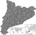 Location of Sant Cugat Sesgarrigues.png
