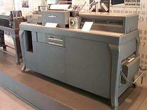 Tabulating machine - Early IBM tabulating machine