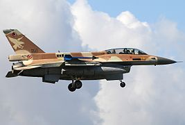 Lockheed Martin F-16D Barak, Israel - Air Force JP7236325