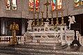 Lodève-Église saint Fulcran-Lutrin-Garniture d'autel-20140627.jpg