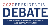 Logo for Presidential Debate September 29, 2020 at Case Western University and Cleveland Clinic.png