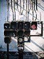 Lokomotywownia wachlarzowa - instalacja elektryczna.JPG