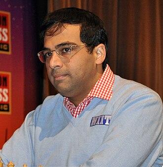 Rajiv Gandhi Khel Ratna - Image: London Chess Classic 2010 Anand 04
