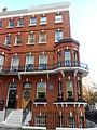 London home of SAMUEL L. CLEMENS MARK TWAIN -23 Tedworth Square, Chelsea, SW3 5DR.JPG