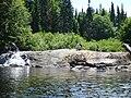 Looking at Twin Falls Hornbeam Lake South side - panoramio.jpg