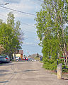 Looking north along Ragged Ass Road, Yellowknife, NT.jpg