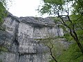 Looking up at Malham Cove - geograph.org.uk - 831894.jpg