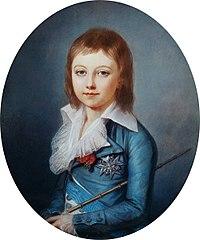 Pintura de Lu?XVII de Fran?(1789).