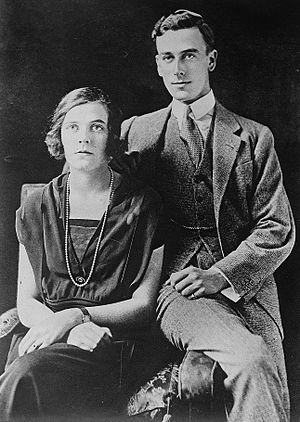 Edwina Mountbatten, Countess Mountbatten of Burma - Louis and Edwina Mountbatten early in marriage.