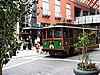 Trolleys provide transportation throughout Louisville's downtown