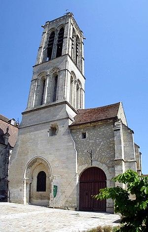 Rieul of Reims - Tour Saint-Rieul, Louvres (Val d'Oise).