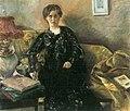 Lovis Corinth Porträt Frau Korfiz Holm 1901.jpg